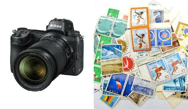 出張買取したお客様のカメラ・収集切手