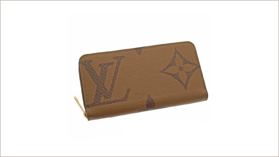 【Louis Vuitton ジッピーウォレット モノグラムジャイアント】型番:M69353
