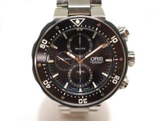 オリス【ORIS】01.774.7683.7154/プロダイバークロノグラフ