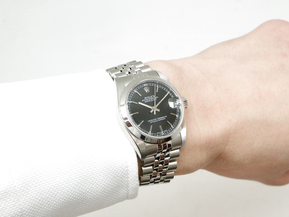 buy popular 07459 82862 人気質屋ブログ~ロレックスのボーイズ時計 絶妙なサイズ感の ...