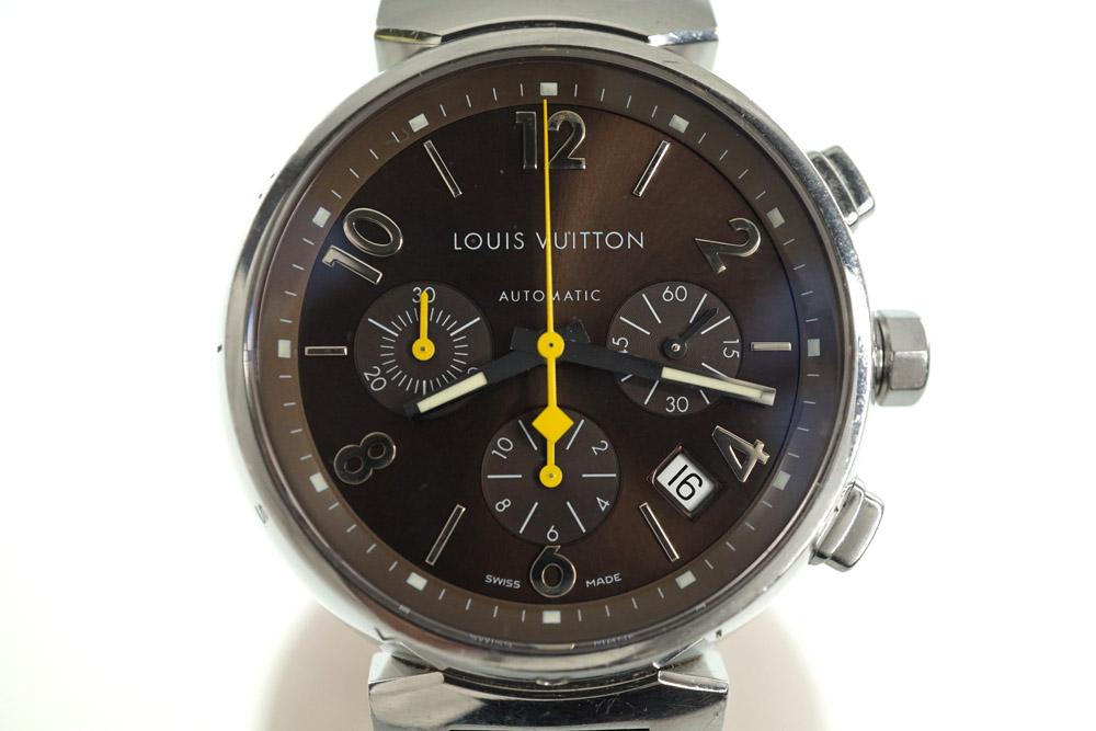 LOUIS VUITTON【ルイ・ヴィトン】タンブール/クロノグラフ/Q1121