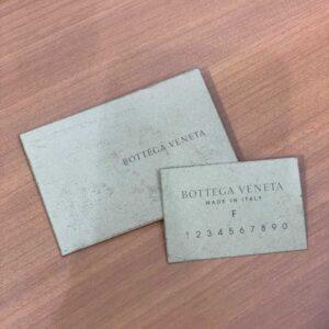 ボッテガのショップカード